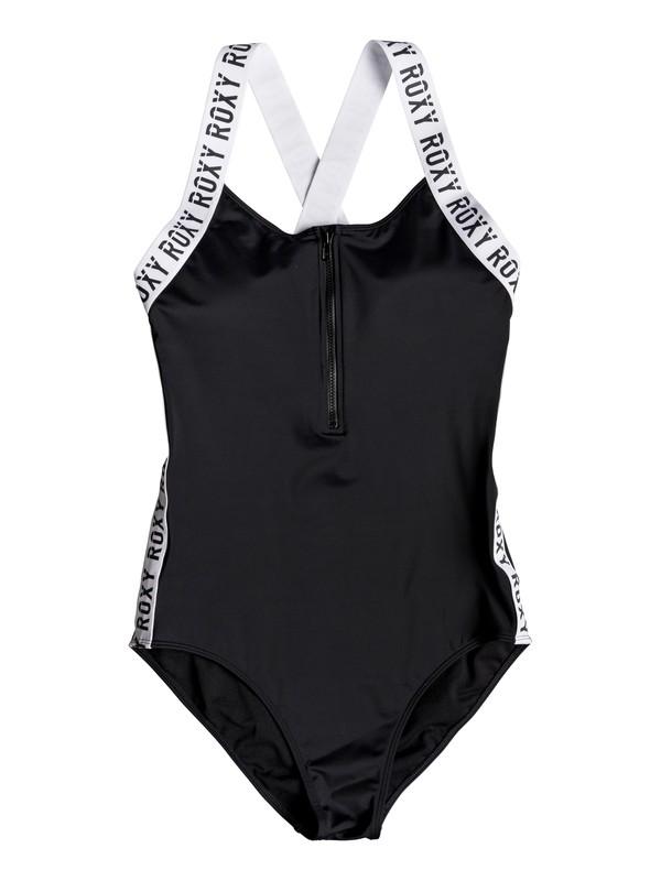 0 ROXY Fitness - Maillot de bain une pièce pour Femme Noir ERJX103170 Roxy