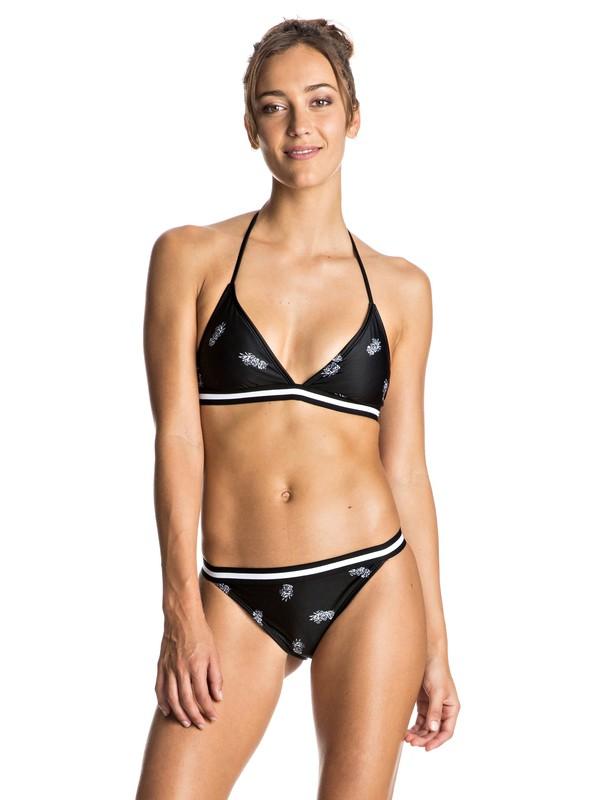 0 Summer Pacific - Fixed Tri Bikini Set Black ERJX203182 Roxy