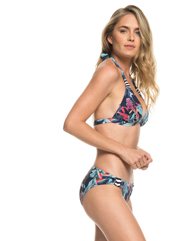 0 ROXY Essentials - Halter-Bikini-Set Blau ERJX203246 Roxy