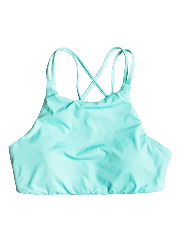 0 Parte Superior de Bikini  Corta Strappy Me!  ERJX303222 Roxy