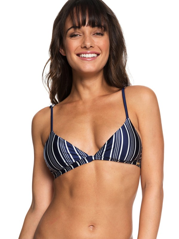 0 Urban Waves Fixed Tri Bikini Top Blue ERJX303819 Roxy