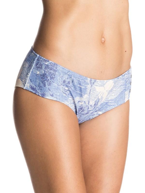 0 Hawaiian Denim Shorty Bikini Bottoms  ERJX403054 Roxy