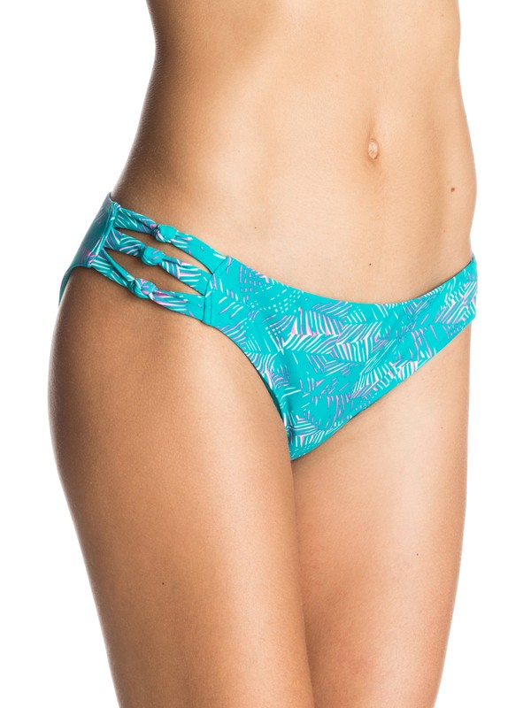 0 Dreamin'Florida Knotted 70's Bikini Bottoms  ERJX403069 Roxy