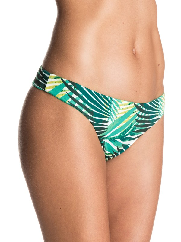 0 Jungle Fever Reversible Mini Bikini Bottoms  ERJX403124 Roxy