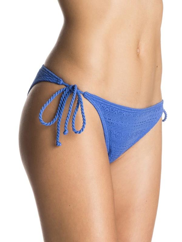 0 ROXY Paradise Tie Side Surfer Bikini Bottoms  ERJX403152 Roxy