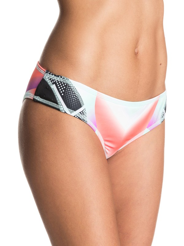 0 Pop Surf Scooter Bikini Bottoms  ERJX403205 Roxy
