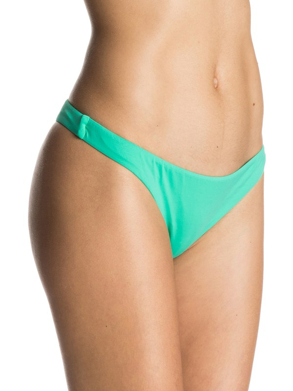 0 Sunset Paradise Tanga Bikini Bottoms  ERJX403209 Roxy