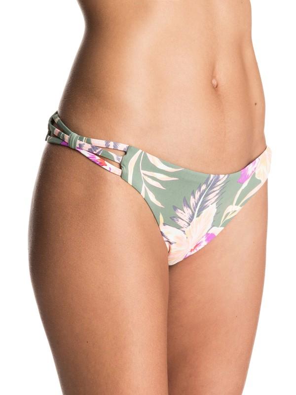 0 Castaway Floral Mini Bikini Bottoms  ERJX403267 Roxy