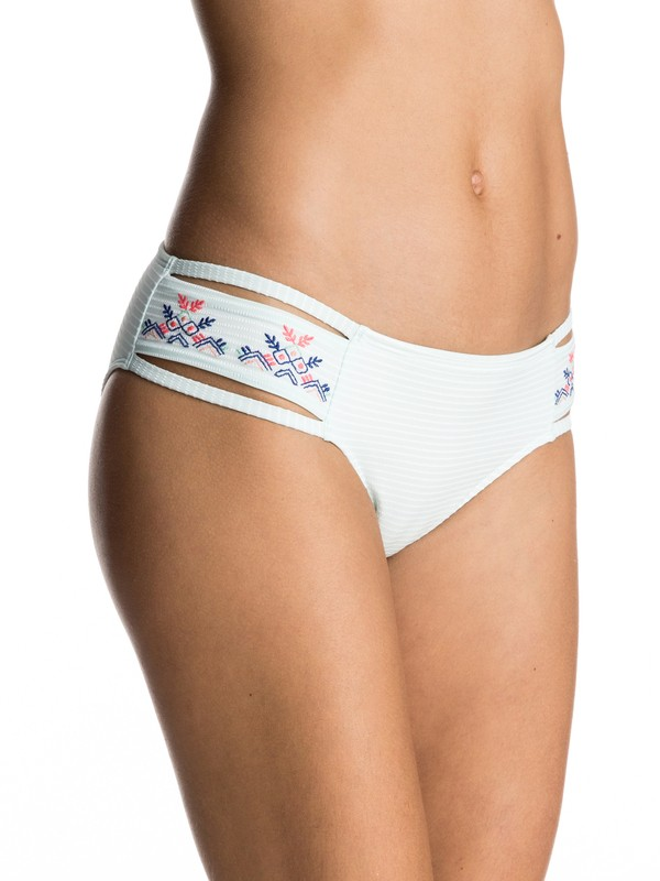 0 Delicate Touch 70's Bikini Bottoms  ERJX403298 Roxy