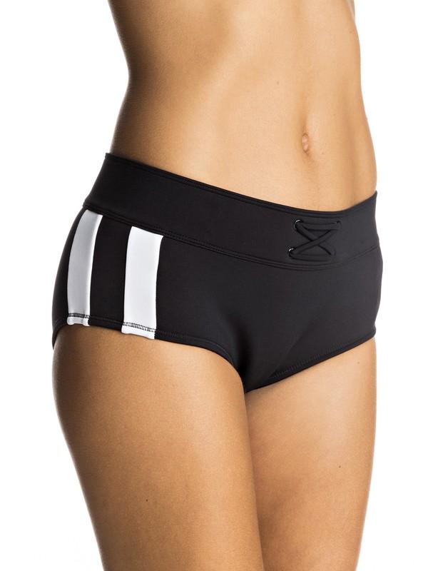 0 Lisa Andersen - Mid Waist Bikini Bottoms  ERJX403442 Roxy