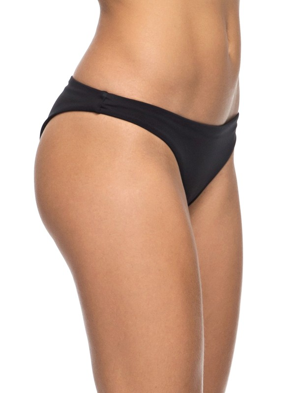0 Keep It ROXY - Surfer Bikini Bottoms for Women Black ERJX403476 Roxy