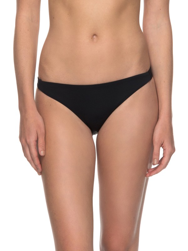 0 Softly Love  Moderate Bikini Bottoms Black ERJX403503 Roxy