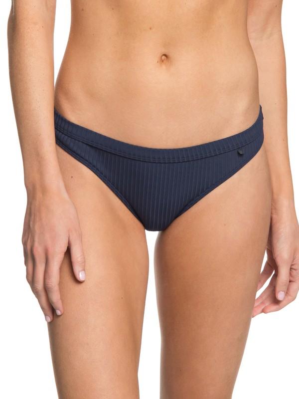 0 Waves Only  Regular Bikini Bottoms Blue ERJX403516 Roxy