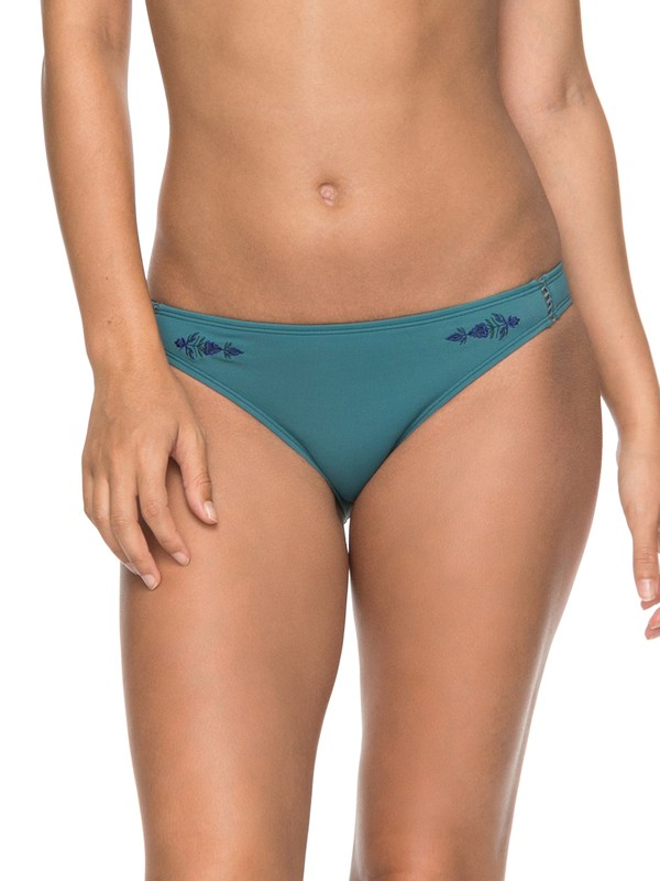 0 Salty ROXY  Moderate Bikini Bottoms Blue ERJX403524 Roxy