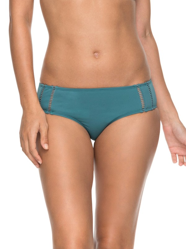 0 Salty ROXY  Full Bikini Bottom Blue ERJX403525 Roxy