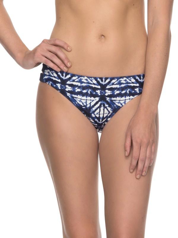 0 ROXY Fitness Full Bikini Bottoms Blue ERJX403535 Roxy