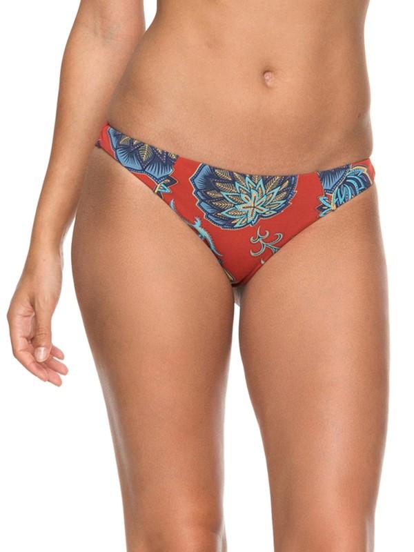 0 Softly Love Mini Bikini Bottom Orange ERJX403537 Roxy