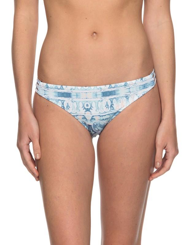 0 Softly Love  Reversible Moderate Bikini Bottoms Blue ERJX403539 Roxy