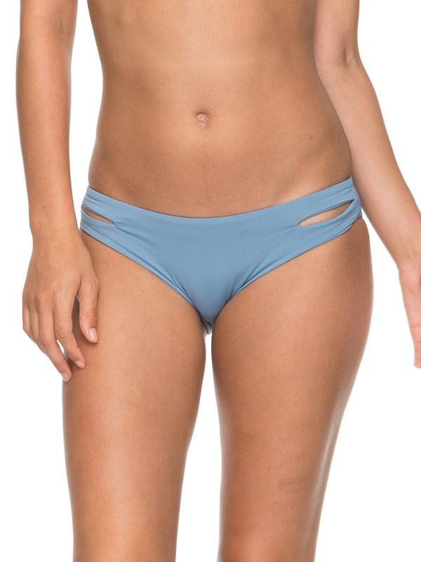 0 Softly Love  Reversible Full Bikini Bottom Blue ERJX403542 Roxy
