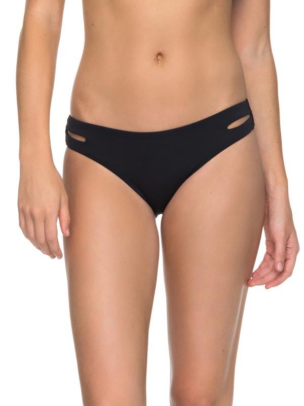 0 Softly Love 70s Bikini Bottoms Black ERJX403542 Roxy