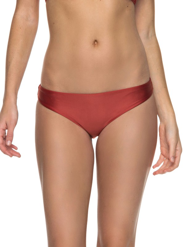 0 Softly Love  Reversible Regular Bikini Bottom Orange ERJX403556 Roxy