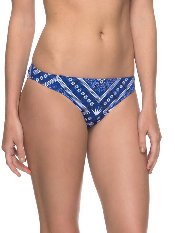 0 ROXY Essentials - Surfer Bikini Bottoms for Women Blue ERJX403559 Roxy