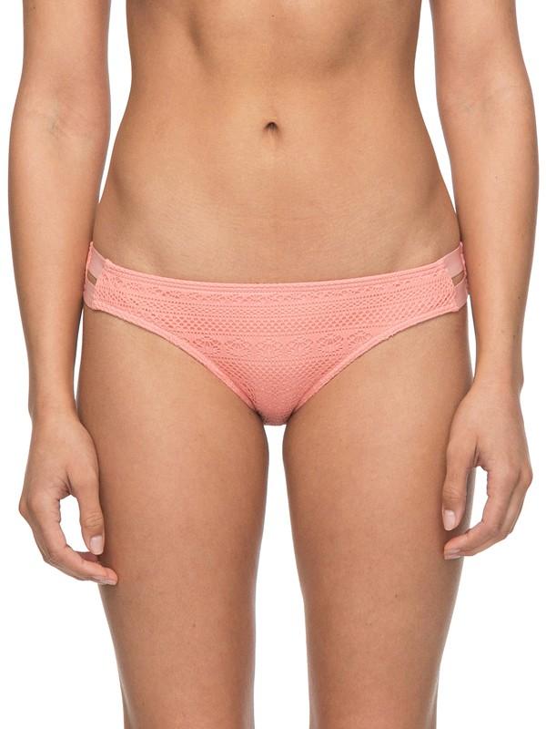 0 Surf Memory Scooter Bikini Bottoms Pink ERJX403579 Roxy