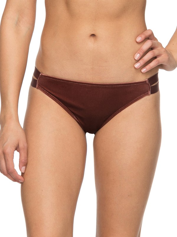 0 Western Escape - Regular Bikini Bottoms Brown ERJX403580 Roxy