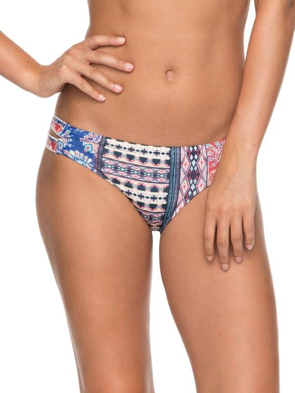 0 Bohemian Vibes Full Bikini Bottoms White ERJX403582 Roxy
