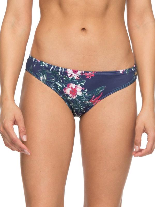 0 Arizona Dream 70s Bikini Bottoms Blue ERJX403584 Roxy