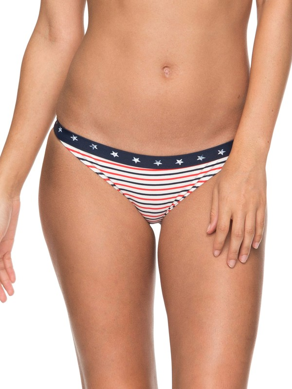0 Surfing USA Regular Bikini Bottoms Blue ERJX403589 Roxy