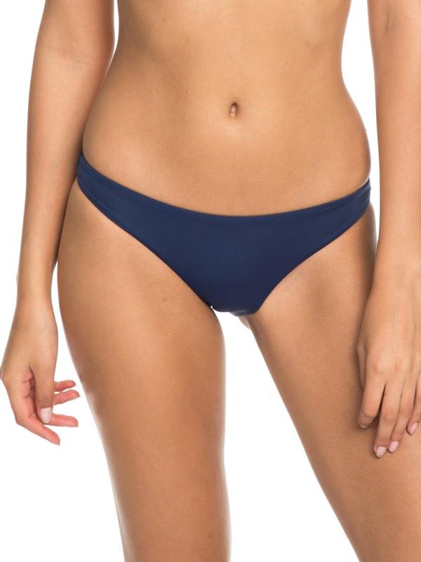 0 Softly Love Moderate Bikini Bottoms Blue ERJX403605 Roxy