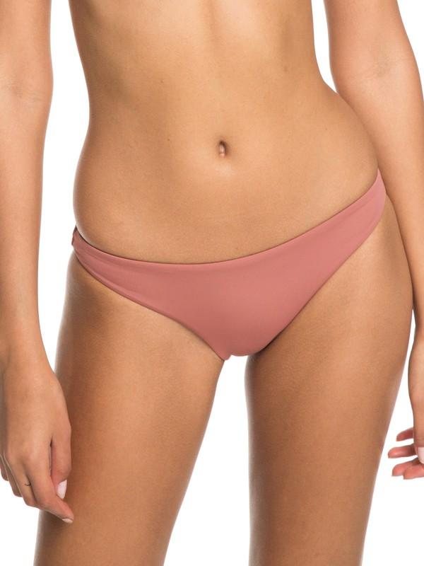 0 Softly Love Moderate Bikini Bottoms Pink ERJX403605 Roxy