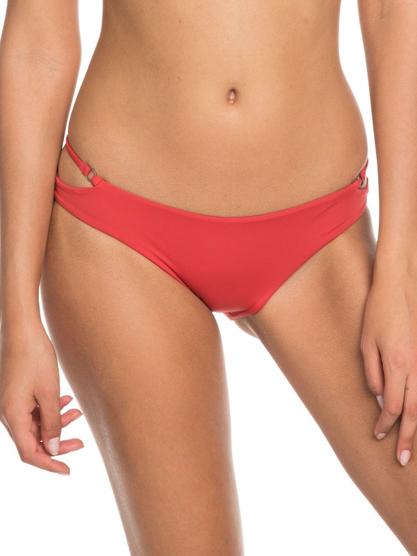 0 Softly Love Regular Bikini Bottoms Red ERJX403606 Roxy