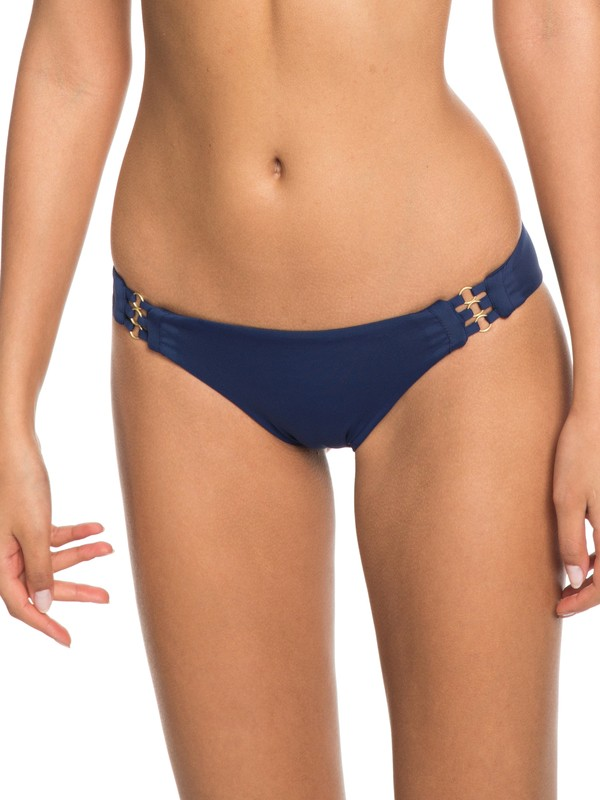 0 Softly Love Full Bikini Bottoms Blue ERJX403607 Roxy