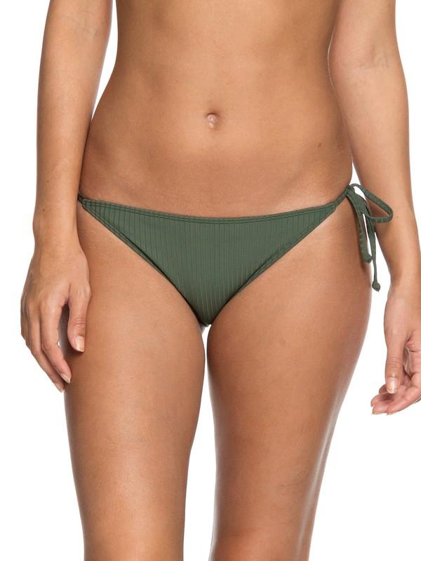 0 Goldy Sandy Mini Bikini Bottoms Brown ERJX403613 Roxy