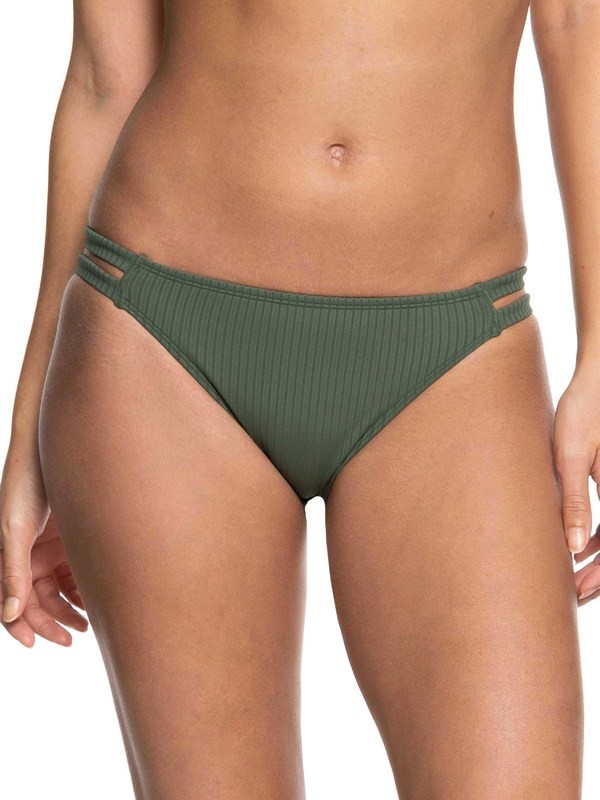 0 Goldy Sandy Full Bikini Bottoms Brown ERJX403615 Roxy