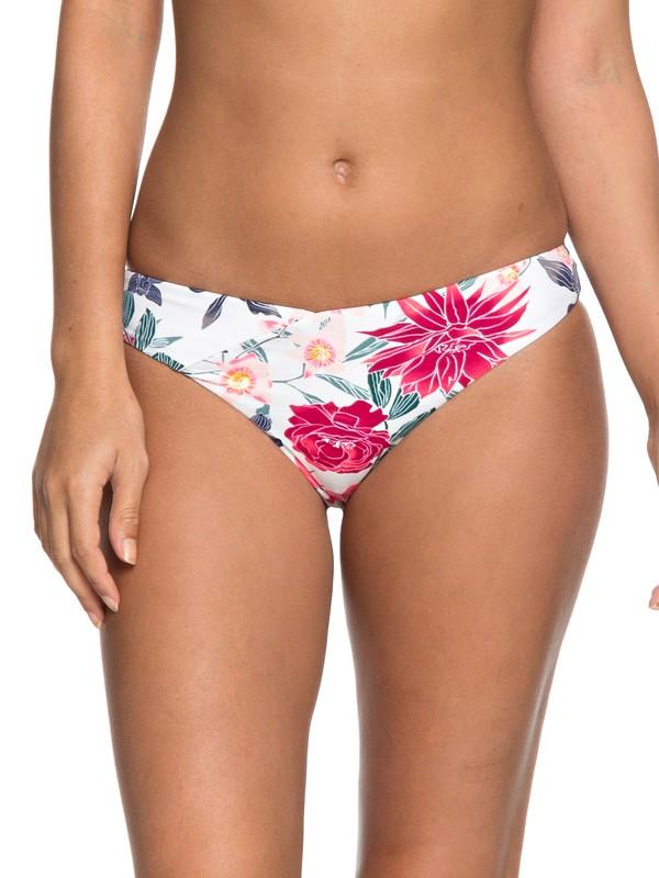 0 Urban Waves Moderate Bikini Bottoms White ERJX403620 Roxy