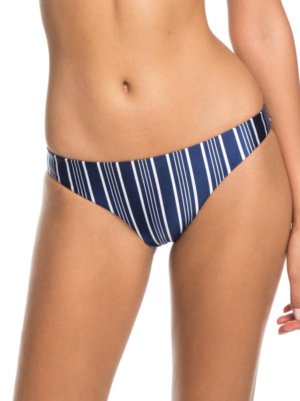 0 Urban Waves - Reguläres Bikiniunterteil für Frauen Blau ERJX403621 Roxy