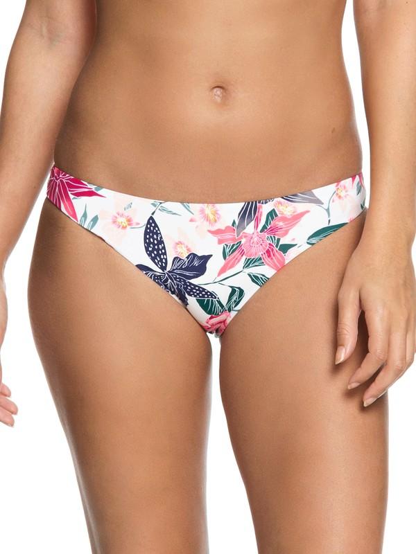 0 Urban Waves - Reguläres Bikiniunterteil für Frauen Weiss ERJX403621 Roxy