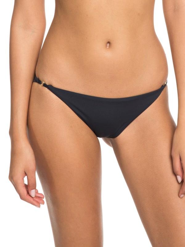 0 Softly Love Mini Bikini Bottoms Black ERJX403627 Roxy