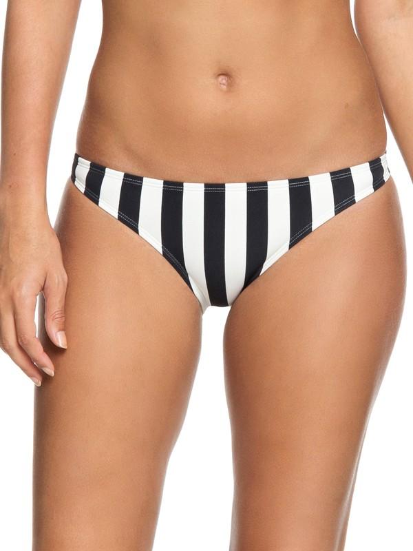 0 Parte Inferior de Bikini Moderado Beach Basic Negro ERJX403636 Roxy