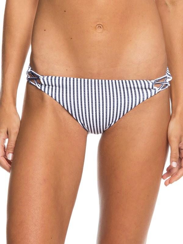 0 Softly Love Reversible Moderate Bikini Bottoms Blue ERJX403655 Roxy