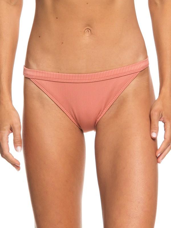 0 Calzones de Bikini de cobertura completa  Uluwatu Waves Rosa ERJX403660 Roxy