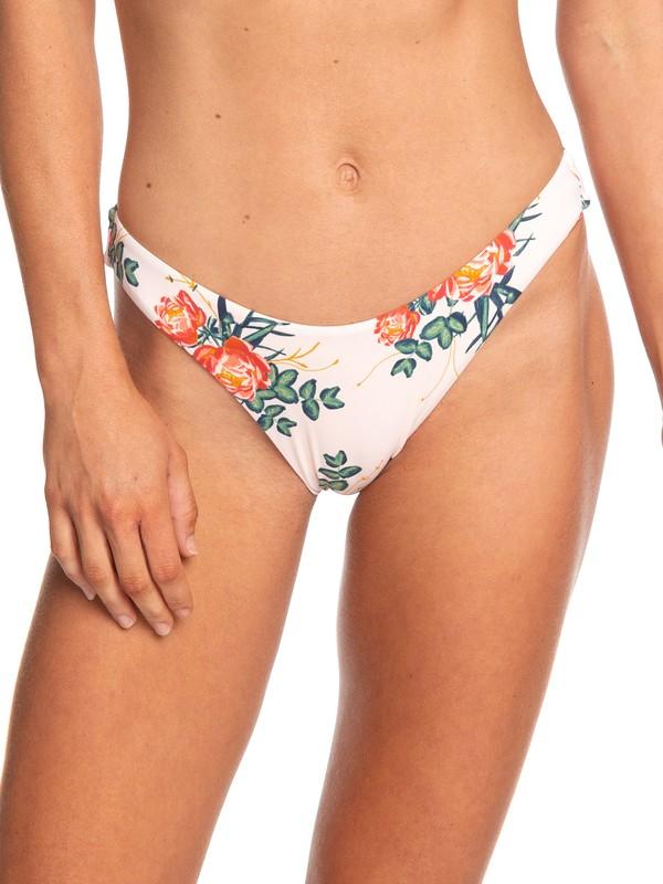 0 Beach Classics Reversible High Leg Bikini Bottoms Pink ERJX403688 Roxy