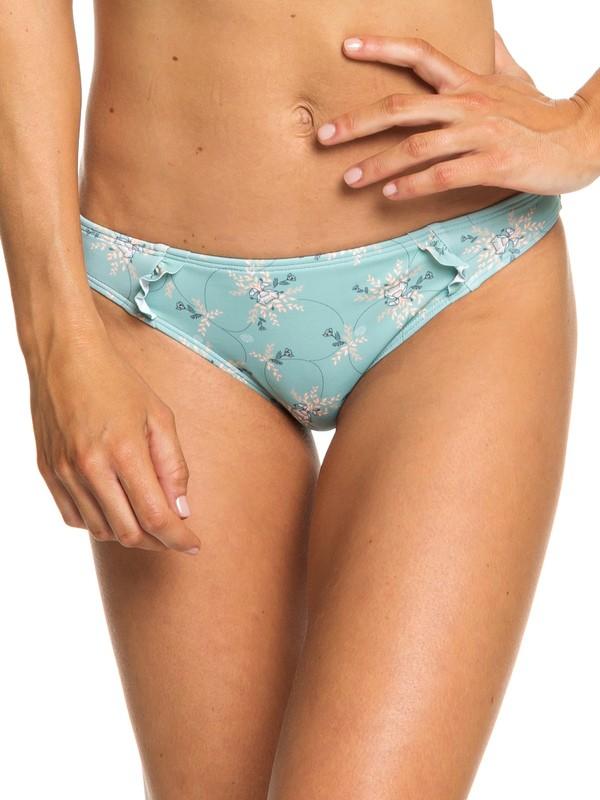 0 Love And Karma Regular Bikini Bottoms Blue ERJX403694 Roxy