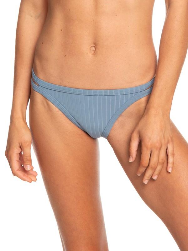 0 Color My Life Regular Bikini Bottoms Blue ERJX403699 Roxy