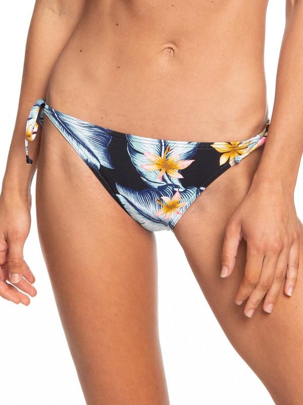 0 Dreaming Day Tie-Side Bikini Bottoms Black ERJX403709 Roxy
