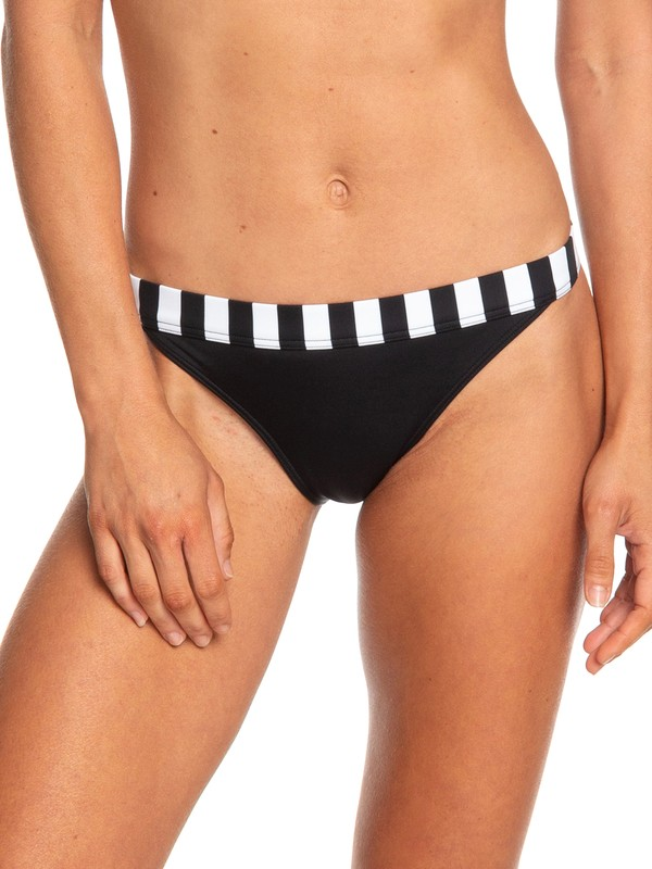 0 POP Surf - Bas de bikini couvrance légère pour Femme Noir ERJX403711 Roxy