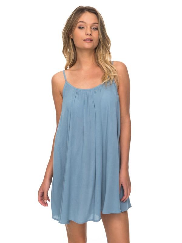 0 Windy Fly Away - Strappy Dress for Women Blue ERJX603012 Roxy